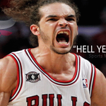 Hell Yeah Bulls! #SeeRed #BeatTheHeat #ChicagoBulls #MiamiHeat #BullsvsHeat http://t.co/Ul9WW8Fp84