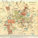 RT @pmandrek: 1924 Map of #Bangalore. The #Koramangala tank was drained to build the National Games Village 1997. http://t.co/7CDazlGuN6