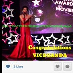 RT @vicegandako: Thanks to my dear friend ToniGonzaga for accepting my StarAwards BestActor trophy. http://t.co/uTMFDJrl1N