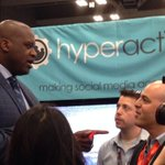 "OMG ""@shellwoman: Shaq Attack! Rocking our booth. #yrsxsw #sxswi @hyperactivate http://t.co/3Hh6yBrX1N"""