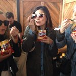 Best @sxsw moments. Frito pie. My life is complete. With @ktischhy @talktechcomm @mohrdavidow http://t.co/R0sJgbhxqi