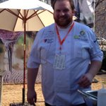 RT @TarynTKPR: Love Chef Pat from @TGRUpstate wearing his Happy G at @ChsWineandFood during his cooking demo #yeahthatgreenville http://t.co/PD61aFbM6h