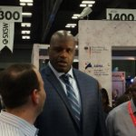 Oh hey @SHAQ !! Enjoying the trade show? Take a load off at the @Austinchronicle booth! http://t.co/bO4KzRYcit