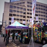 Free slurpes at Lavaca & 4th #Austin. #sxsw #freebies http://t.co/cWtiIOYaWb