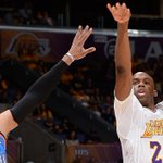 RT @Lakers: .@Jmeeks20 in the 3rd Q: 20 points. OKC: 19 points. #GoLakers http://t.co/yM5aMj0B2x