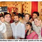 RT @sillijo: @pnavdeep26 & @LakshmiManchu at the Kaushik Reddy and Ashrita Reddy Wedding