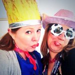 Getting super silly with @CCarretero in the #mofilm #sxsw14 lounge. And no, @DeepEddyVodka wasnt involved at all! ;) http://t.co/kyjyiEsz3B