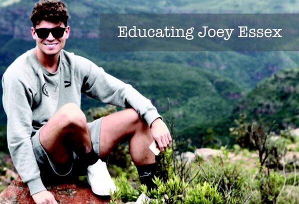 Educating Joey Essex  -  Sunday 16th March at 9pm on @itv2 @JoeyEssex_ @OnlyWayIsEssex #EducatingJoey http://t.co/3ypNyqx0FF