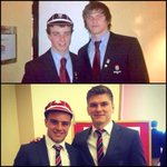 RT @BenjaminLewitt: @EnglandRugby #LadsLadsLads Just a few years & shhlids @George_Fordy @owen_faz Great work boys  #caps #better http://t.co/Vs0oLcAnHL
