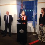 Welcomed tonight Minister for Women @SenatorCash & Ambassador for Women & Girls Natasha Stott Despoja to #CSW58 http://t.co/7Yx3HAqtiI