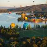 Perfect morning for the @EventsACT #Balloonspectacular in @visitcanberra today. Photo: Martin Ollman http://t.co/FFPJkDNSWZ