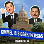 TOMORROW. #KimmelInAustin @jimmykimmel http://t.co/yd2uK9QDlK