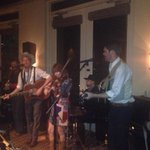 """@kimberlybreslin: Got me some awesome bluegrass (at four seasons which is soo bizarro ;) #SXSW14 @sourbridges http://t.co/sCX5I2pA2z"""