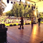 RT @Joe_Gleeson: Scooby Doo rocking out on Stage 88 for Canberras Birthday! #CBR http://t.co/zWCa2JgEha