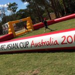RT @afcasiancup: Thanks for having us #Canberra RT @NessFebo: Thanks @afcasiancup for joining us on #CBR day! http://t.co/V1mwROLdaE
