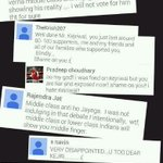 RT @_j_n_s: Reactions frm AAPis on watching Aaj Tak Ki Dukaan AAP .... LT @SirJadeja http://t.co/k9eRqx9sSW