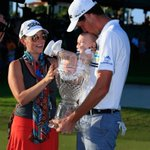 RT @TeamISM: [Getty Images] @chadleyprogolf celebrates his @PuertoRicoOpen victory with wife Amanda and son Hughes: http://t.co/bYVIfJFp8I