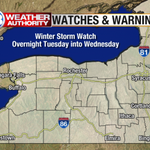 RT @925WBEE: Great. RT @MartySnyder13: Winter Storm Watch from Tuesday into Wednesday. Potential for significant snow. #ROC http://t.co/QEeRUlNbf2