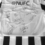 Weve had the shirt signed by all #NUFC players on Twitter. Simply RT and follow @NUFC to be in with a chance! http://t.co/vBrEoRGRY3