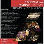 "RT""@riz_studio: ""Promo maret-april 2014!! dont miss it guys!! http://t.co/nuV5ZdqK8i"""""""