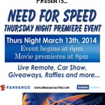 Its #NeedForSpeedMovie Premiere week @BrendenMod18 #Modesto http://t.co/wdccZYZRA3