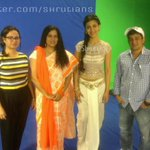 RT @Shrutians: Our princess @shrutihaasan at WIFT national anthem shoot! RT http://t.co/A1Fst7J8F7