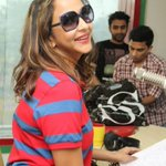 RT @TollywoodAndhra: Manchu Lakshmi At Radio Mirchi Photos  http://t.co/NxjrZV6vgy  looks super !!  @LakshmiManchu