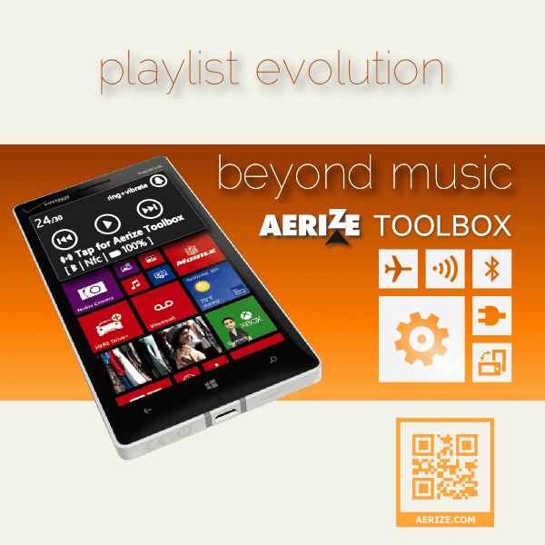 Beyond Music with Aerize Toolbox for Windows Phone