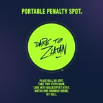 Set-piece perfection shows true inner peace. Use this to train your pressure muscles. #DareToZlatan http://t.co/04Jf1MXLfL