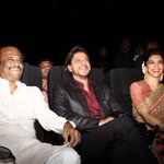 Glimpses from #Kochadaiiyaan music launch event. Pic 1... http://t.co/oa2U332U9i