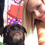 Selfie with my new pal @IMKristenBell at Good Morning America! Cc: @GMA http://t.co/CAAK5UPiwB