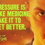 RT @Ibra_official: When it comes to dealing with pressure follow this tip. #DareToZlatan http://t.co/tocZnPoS1a