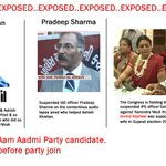 RT @thokpalbill: Exposed...Another Cong stooge Ashish khaitan get AAP ticket from New Delhi and Pradip Sharma both joined AAP party. http://t.co/twjotKhjlT