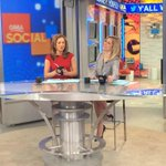 Tune in now for #GMALive and get a closer look at our new #SocialSquare! Watch here: http://t.co/y52vVG3URn http://t.co/X5K1eqbJxn
