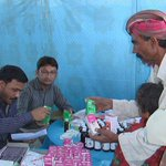 Free Medicines provided from Camp Establish by Khidmat e Khalq Committee #MQM at Umerkot for people of Thar. http://t.co/x21bovyz5T