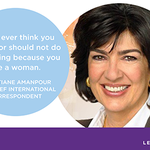 RT @camanpour: #banbossy and encourage girls to lead. Join me today: http://t.co/d9b94PTIOf. http://t.co/xnX6dg9EMu