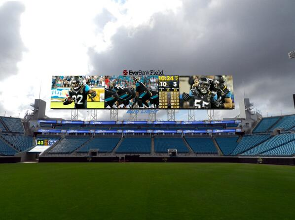 Image of new @daktronics video boards to be installed @everbankfield. NFL's largest screens. #jaguars http://t.co/UnNRQO2BHD
