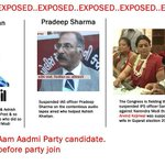 Exposed.Another Cong stooge Ashish gets AAP ticket frm Delhi & Pradip Sharma joins AAP #AAPwedsAAJTAK #NaMoInBihar http://t.co/Wz6ptiVX4q
