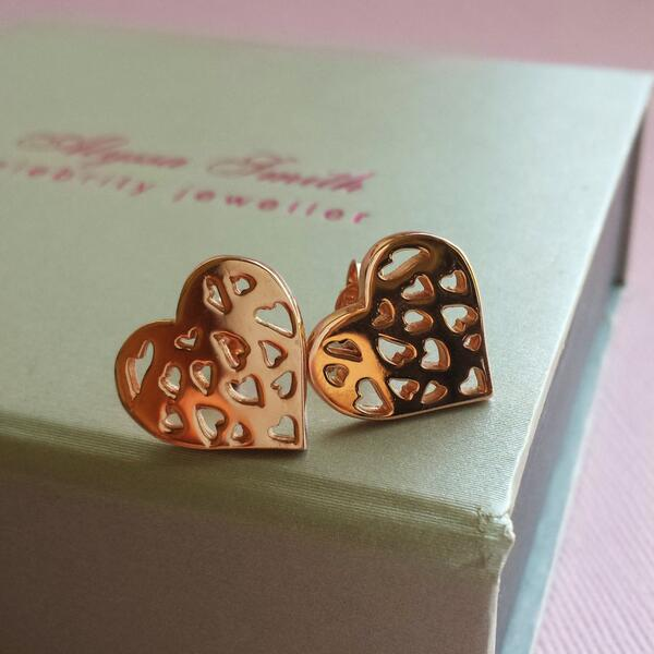 NEW #GIVEAWAY to win these amazing ROSEGOLD Allegra Studs worth £65! Follow us & RETWEET this tweet! Ends 10pm WEDS http://t.co/HSye4YUoZd x