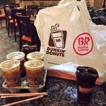 Got our fill at the new #sandiego @DunkinDonuts...loving my hazelnut iced coffee ❤️ http://t.co/FcNRRzstsW