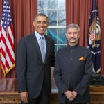 RT @mohitfreedom: Ambassador of #India Dr S Jaishankar presented credentials to US President Barack H Obama http://t.co/3MFVZKz6qR http://t.co/j6FNhJFeEI