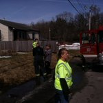Firefighters assist man and his dog following house fire at 2010 Telegraph Rd., Davenport. http://t.co/ek5fF2zbqK