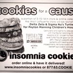 Need a study break? Support our philanthropy with @snuesdays by ordering some Insomnia cookies! http://t.co/BlW6Kw8hxT