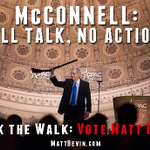 RT @joesonka: .@MattBevin is using the McConnell/CPAC/gun image online: #kysen http://t.co/Cryp5wFVxA