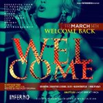3.14.14 || #WelcomeBack || #Inferno || Everyone FREE Till 12 w/ CID and proper attire || #ExecutiveTeam http://t.co/QkNL5jPsVz