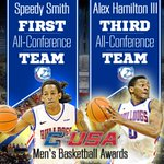 RT @LATechSports: Congratulations to Speedy Smith and Alex Hamilton for earning post-season Conference USA awards! #WeAreLATech http://t.co/22zRCU7i1g