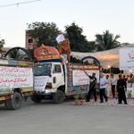 PIC 1: On directives of #AltafHussain #KKF sending Relief goods for Tharparkar #MQM #Karachi #Pakistan http://t.co/Xv10jouYdo