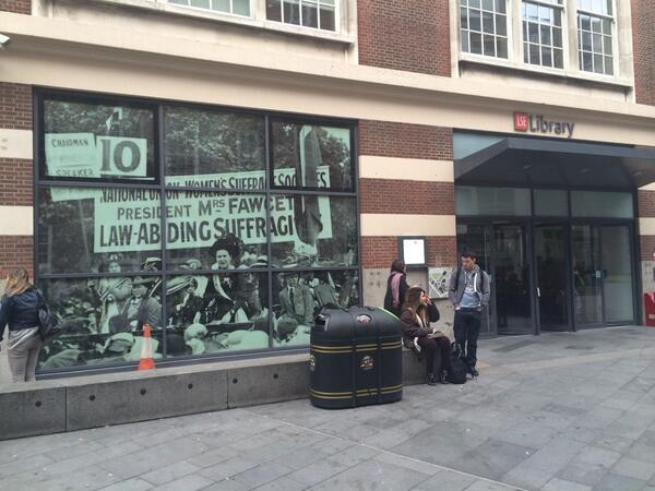 New look for @LSELibrary #LSEWL http://t.co/CdpAk9oCrm
