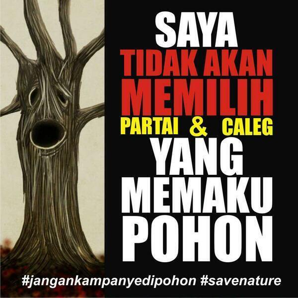 #JanganKampanyediPohon #SaveNature http://t.co/RTksjsgcEd