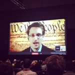 RT @POPSUGARTech: Edward Snowden, who revealed NSA data collection, is speaking to #sxsw LIVE. Through 7 proxies, no less. http://t.co/k3YyXQiZKG